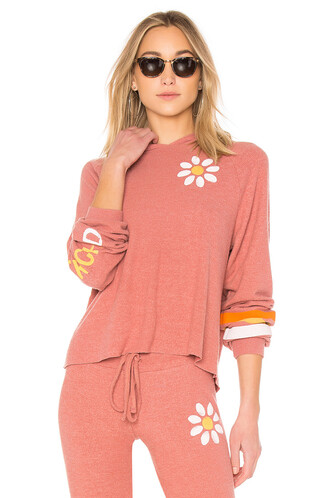 pullover rose sweater