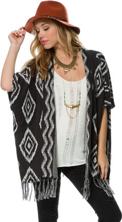 BILLABONG WHOLE HEARTED FRINGE CARDIGAN > Womens > Clothing > Sweaters | Swell.com