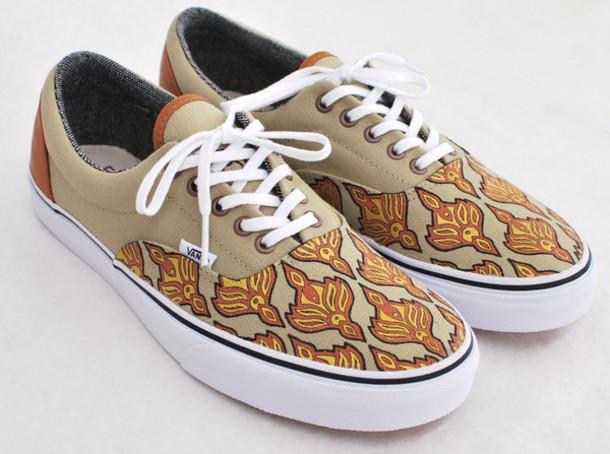 shoes vans tweed khaki khaki shoes custom vans sneakers