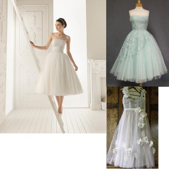 dress tulle retro