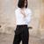 Valentino-Pantalon Structuré à Pinces  Noir - Departement Feminin