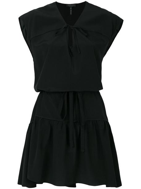 Rag & Bone dress women black silk