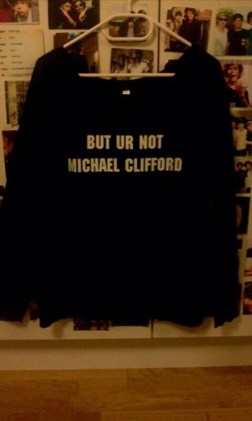 sweater michael clifford 5 seconds of summer jumper