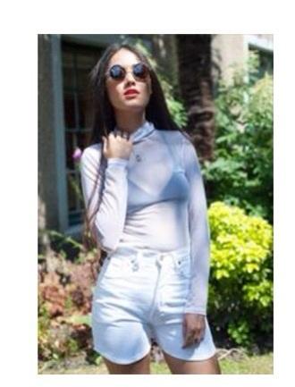 shorts top mesh top white polo shirt