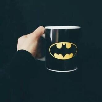home accessory batman black white