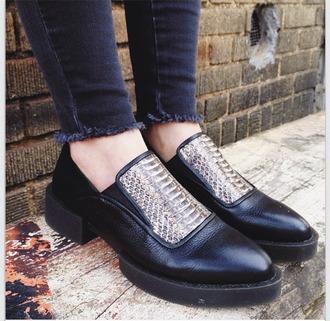 shoes black shoes black grunge shoes grunge leather snake