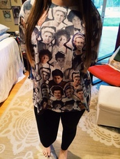 shirt,one direction,zayn malik,harry styles,niall horan,liam payne,louis tomlinson,directioners,directioner