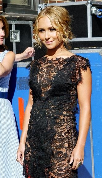 dress lace dress little black dress