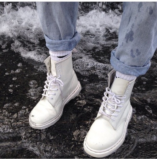 Shoes: white timberlands, charliexbarker, - 127.4KB