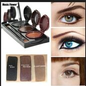 make-up,eyeshadow palette,eyebrows,eyeliner,eye makeup