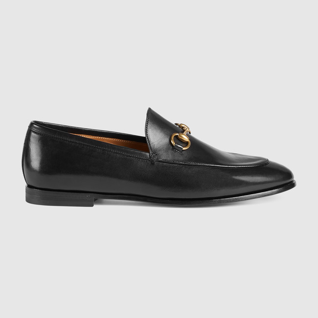 Gucci , Gucci Jordaan leather loafer
