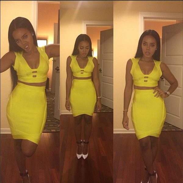 skirt top Angela Simmons
