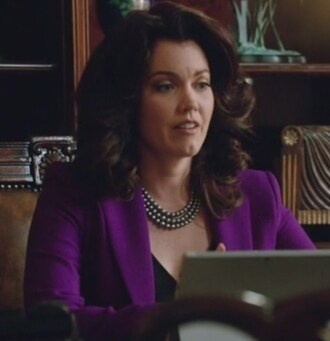 jacket scandal purple blazer mellie grant bellamy young wool