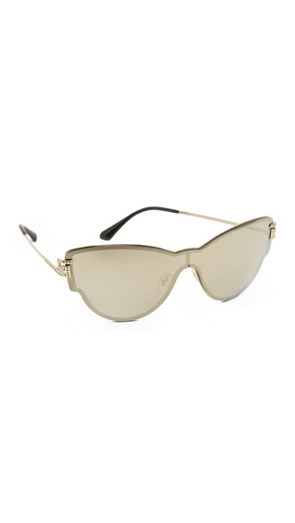 sunglasses mirrored sunglasses gold