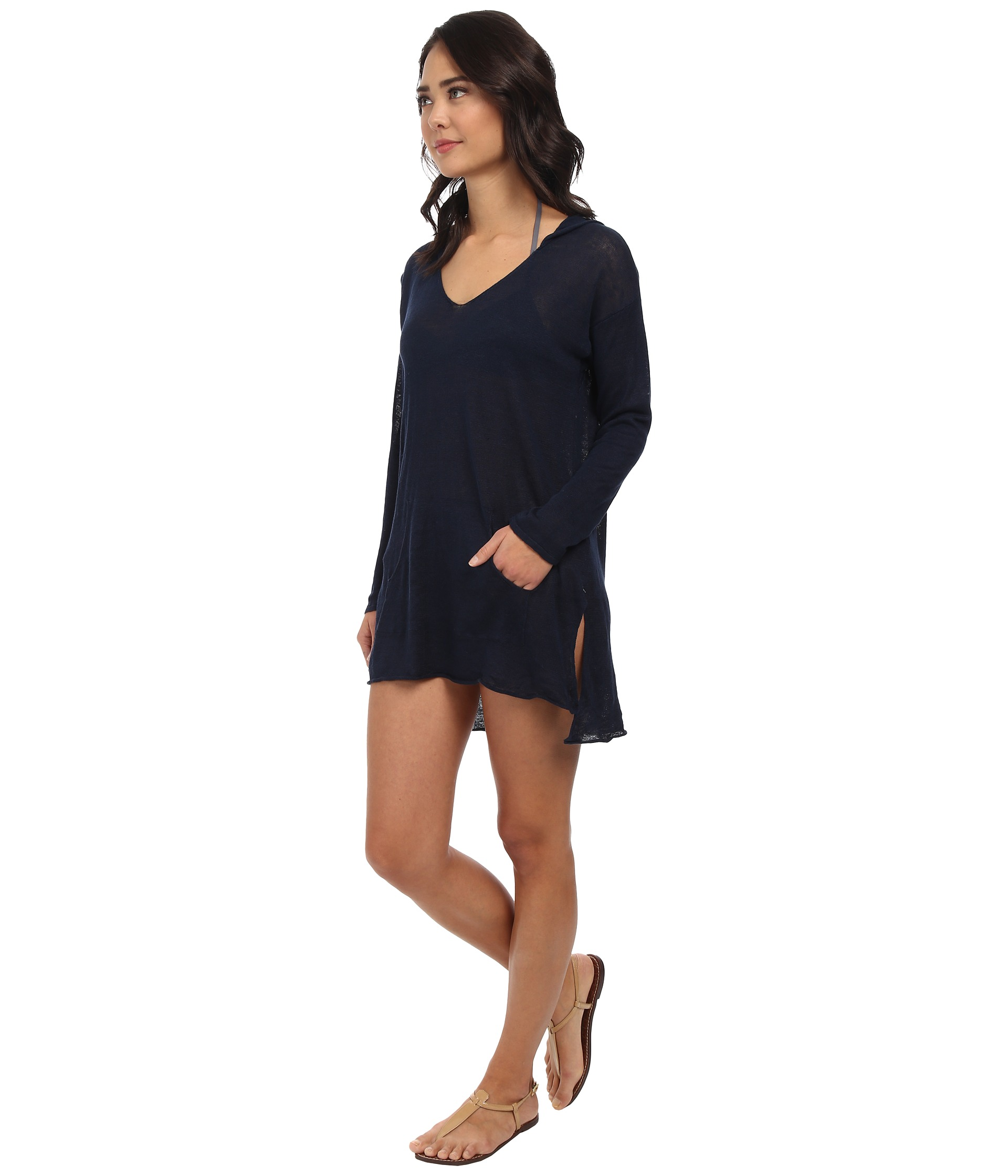 Seafolly sun lounger hoodie cover