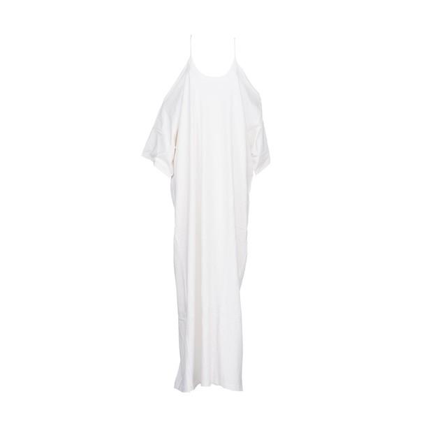 Vetements dress long dress long white
