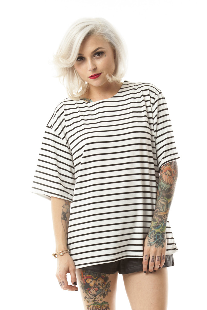 Clara Striped Tee – Wunderlust