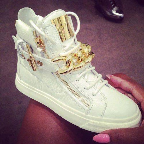 shoes swag white gold white and gold shoes