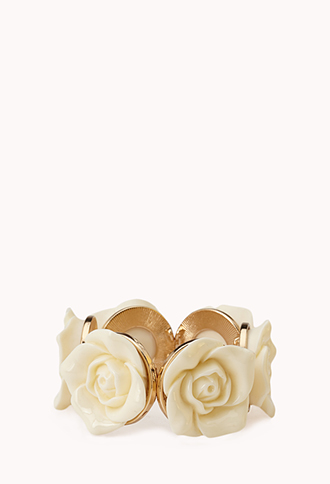 Rose Goddess Stretch Bracelet | FOREVER 21 - 1000140370