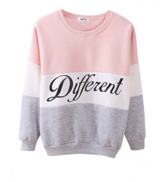 sweater jumper pastel