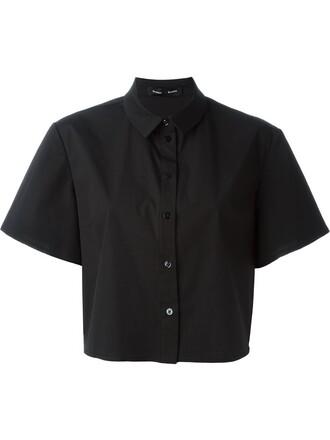 shirt fit black top