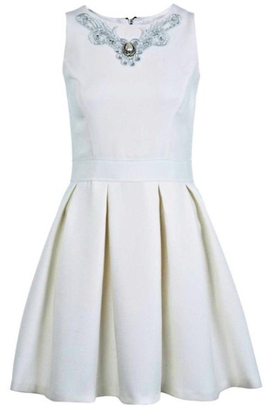 dress prom dress pleated dress skater dress skater skirt cream cream dress bridesmaids dress