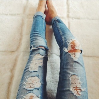 jeans ripped jeans torn jeans