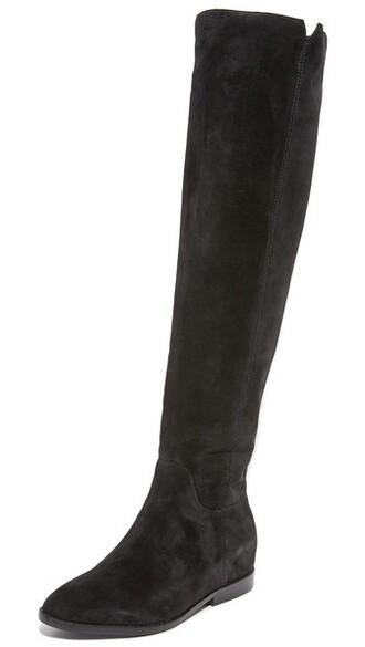 boots black shoes