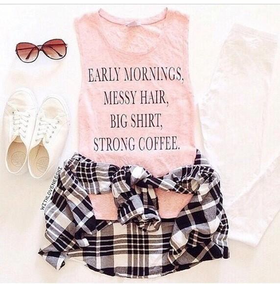 tank top t-shirt shirt style sunglasses shorts pink dress glasses