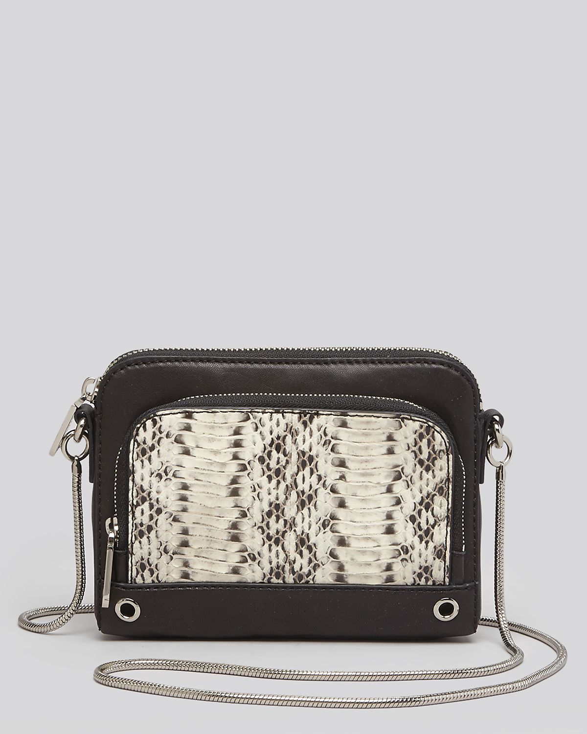 MILLY Crossbody - Mercer Watersnake | Bloomingdale's