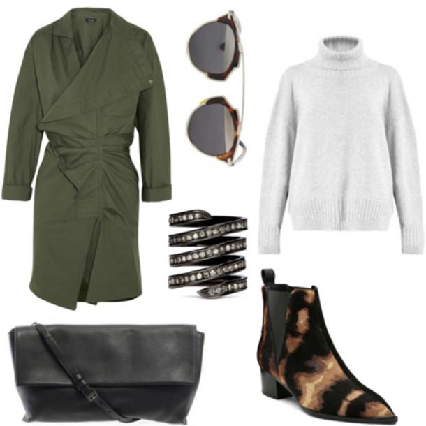northern light blogger sunglasses jewels bag dress sweater shoes