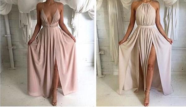 Backless Halter Prom Dresses Tumblr
