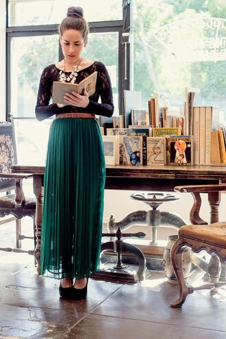 skirt fashion model cute pretty hot hippie boho maxi dress maxi skirt green green skirt chiffon oufit fashionista bohemian indie forest green college