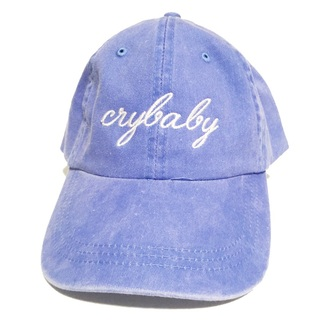 hat blue crybaby