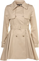 Celebrities who wear, use, or own topshop bow back trench coat / coolspotters