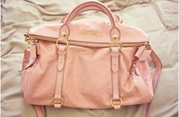 bag pink miu miu