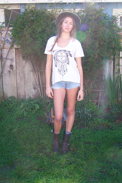 Native american johanna boyfriend tee by idylwildwoods on etsy