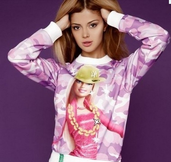 tank top barbie pink hoodie sweater baby luxury