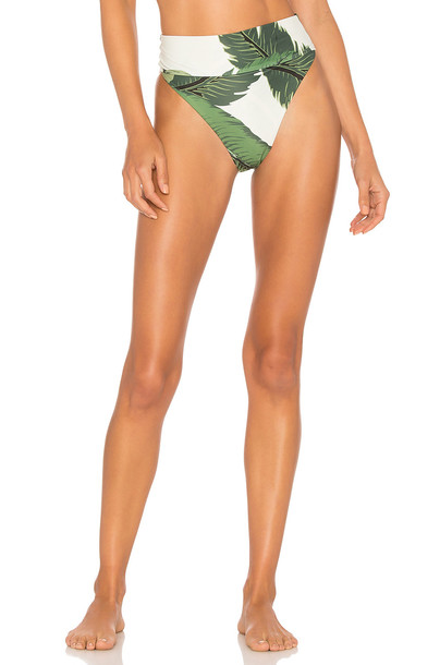Beach Riot bikini green swimwear