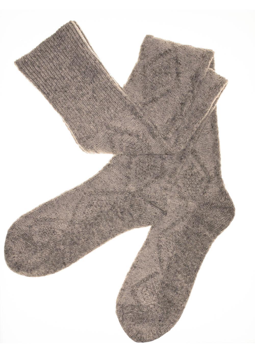 Aran Knee-High Socks | Blarney