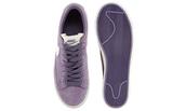 shoes,purple trainers,nike sneakers,nike blazer vintage