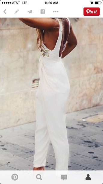 romper white romper outfit onesie