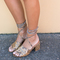 The lucy heel - python - pre order