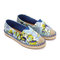 Printed espadrille flats - us$31.95 -yoins