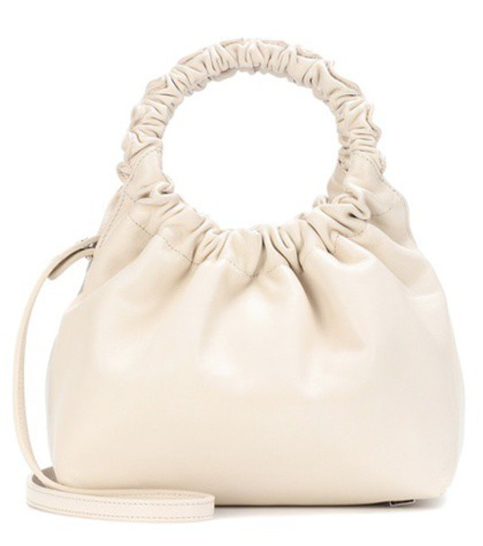 The Row bag shoulder bag leather white
