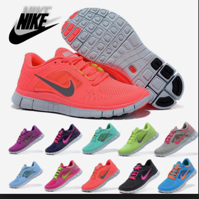 d54ecf58c669 Nike Free Run 3 Neon Pink Shoes