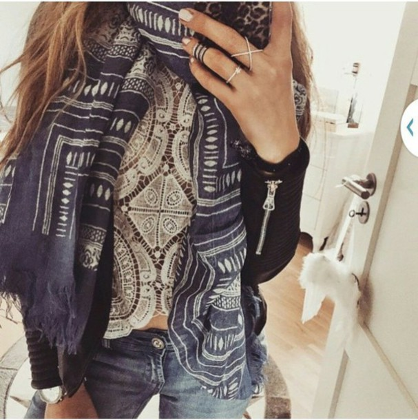 tank top girl cute fashion style boho hippie cool fashionista top t-shirt scarf