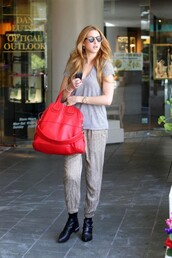 whitney port,red bag,bag