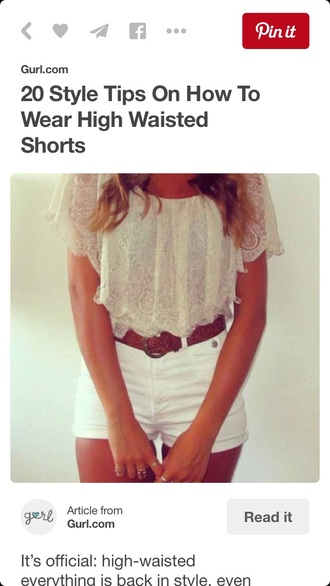 shirt crop tops shorts style white white crop tops summer outfits cute fashion