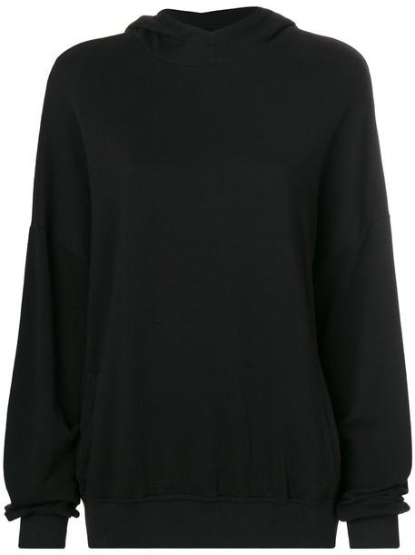 Thom Krom hoodie women cotton black sweater